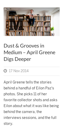 Dust and Grooves shout out