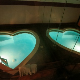 In-room love pools