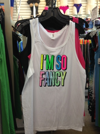 I'm So Fancy t-shirt