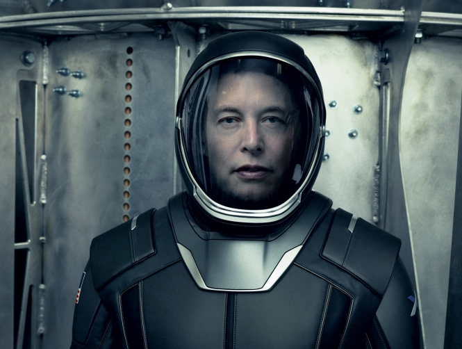 Elon Musk spacesuit