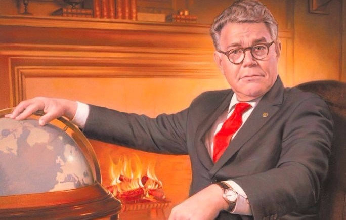 Al Franken Giant of the Senate book cover