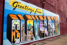 Greetings from Cleveland mural