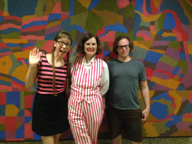 Paula Poundstone with adoring fans in Chicago